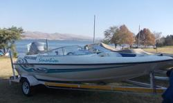 Sensation Bow-Rider with 125hp Mariner Autolube on