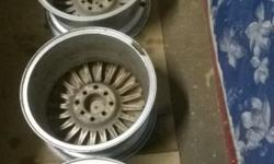 Set of 15 inch 4/100 pcd A/Line rims FOR SALE: *** ADD