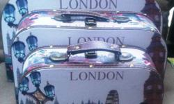 Set of three London Hand Travel Bags can be bought