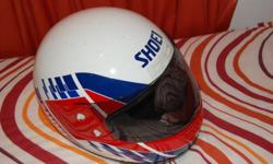 Hi , I have a shoei helmet in great conditions, only