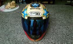 Shoei X-11 Helmet. Size small to medium. In good