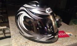 Shoei helmet in excellent condition. Well looked after