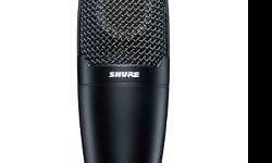 Side-address cardioid condenser microphone for
