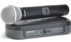 Beskrywing Shure PG24/PG58 wireless with handheld mic