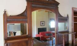 Very well looked after sideboard with mirror. Moving so