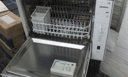 Siemens dishwasher. Perfect for smaller kitchens. It is