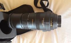 I am selling a Sigma 150-500mm F5-6.3 DG OS HSM for