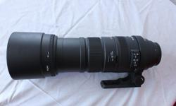 I am selling my Sigma Lense for a Canon camera. The