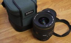 For sale is a Sigma 17-35mm f2.8-4 DG EX Canon Mount.
