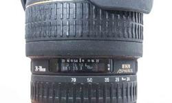 Sigma 24-70mm f2.8 EX Aspherical - Canon mount. Very