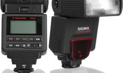 Sigma flash EF 610 DG with pouch and batteries. Very