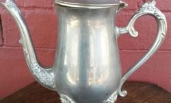 Silver plated Tea Jug in good condition Item is in