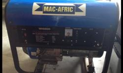 Het 'n groot Mac-Afric Single Phase Gasoline Generator
