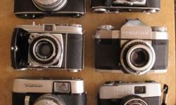 I Have a collection of these six cameras to sell as a