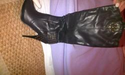 stunning pair of brand new boots for sale , stiletto