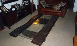 Beskrywing Brand New: Sleeper wood Coffee Table