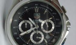 Slightly used Tag Heuer Link Calibre 36, Chronograph