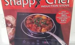 I won a Snappy Chef Induction Cooker valued at R1500.00