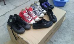 Sneakers for sale Chucks are all size 7 and the Superga