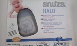 Snuza Halo with vibrating function for sale.