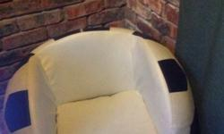 Hi I am selling my soccer ball shaped chair for R800