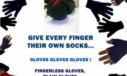 Beskrywing GIVE EVERY FINGER THEIR OWN SOCKS... GLOVES