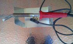 This is a mega sized soldering iron which is capable of