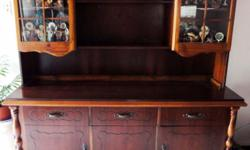 Beskrywing Mahogany unit for sale. It is solid and a