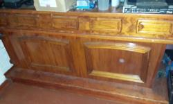 Solid wood pine bar for sale..Very strong and in good
