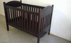 I have this cot from Mistry's with drop down side. This