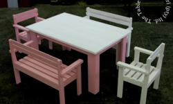 1000mm x 600 x 400mm high Benches R300 each, Chairs
