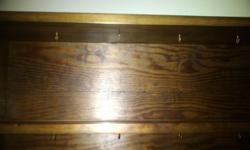 A stunning solid wood welsh dresser. It is over 35