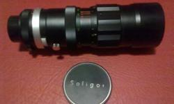 Soligor Auto Zoom 1:4.5 f=75mm-260mm 67 mm diamCamera