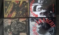 SONS OF ANARCHY TV SERIES! COMPLETE SEASONS 1-4!ALL