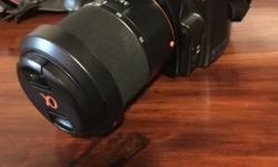 I'm selling my Sony Alpha-100 DSLR camera for R2700. It
