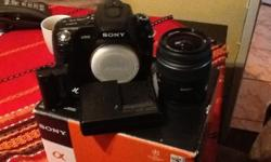 I am selling my 6 months old camera Alpha A500 Zoom