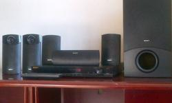 SONY BRAVIA 5.1 Home Theatre TO GO!! DVD/CD, USB, FM,
