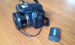 Sony Cybershot DSC-HX1 20x zoom with spare battery and