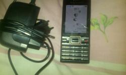 Sony Ericsson with charger Good Condition it has 5mp