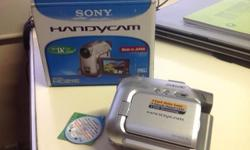 Sony handycam optical 20x zoom touch screen Never Used,