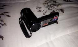 Selling my sony camcorder, it has built in projector,