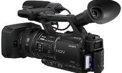 The Sony HVR-Z5 is a compact professional HDV camcorder