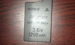 SONY PSP 3000 BATTERYCan be used as spare or