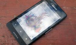 Sony Xperia Go ST27i for sale. Black, No scratches on