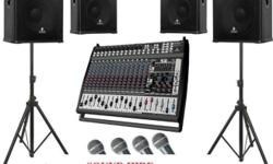 Sound system for hire: Parties, Birthdays, Weddings,