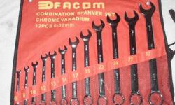 Combination Spanner Set 12 pc 6-32mm (new) Retail R 395