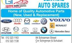 In need of spares for your car? GI CENTRALAUTO