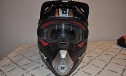 Sparx Helmet and Goggles for sale.