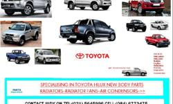 SUPPLIERS OF TOYOTA HILUX .NEW BODY