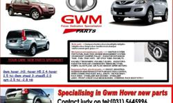 SUPPLIERS OF GWM NEW PARTS .SPECIALISING IN GMW HOVER